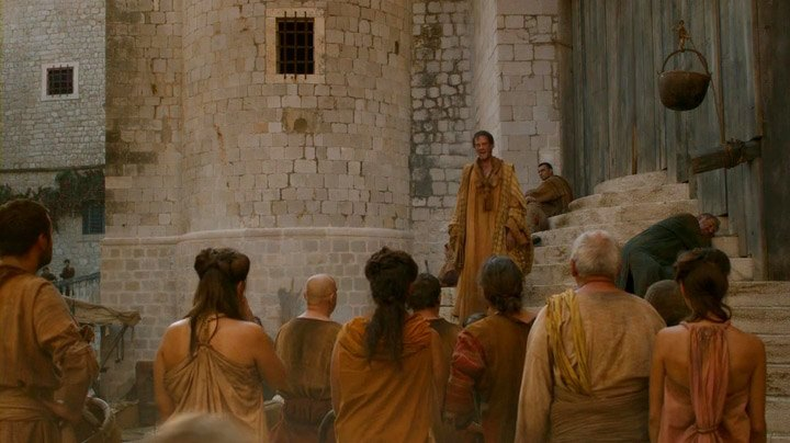 Protest speech against the Lannisters