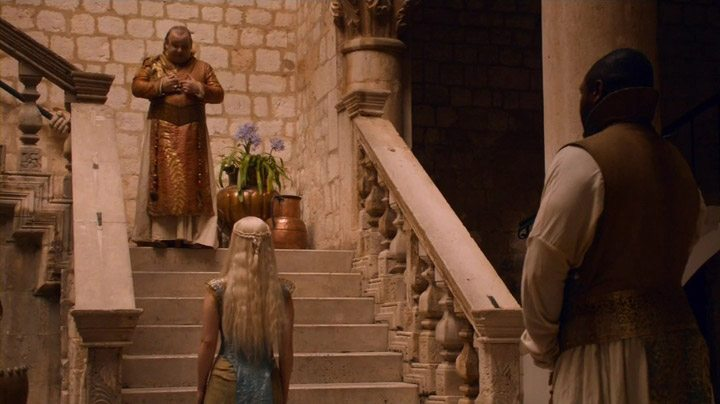 Daenerys visits the Spice King