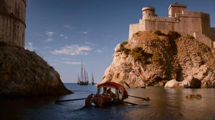 Myrcella departs for Dorne