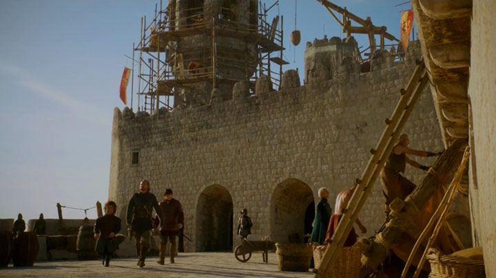 Bronn sellsword & knights