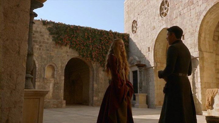 Cersei Lannister and Lord Baelish talks