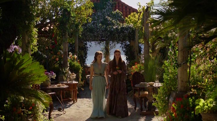 Sansa and Margaery discuss her engagement to Tyrion
