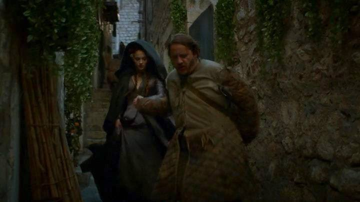 Sansa's escape from King's Landing