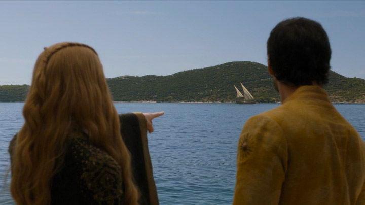 Oberyn Martell and Cersei Lannister talks