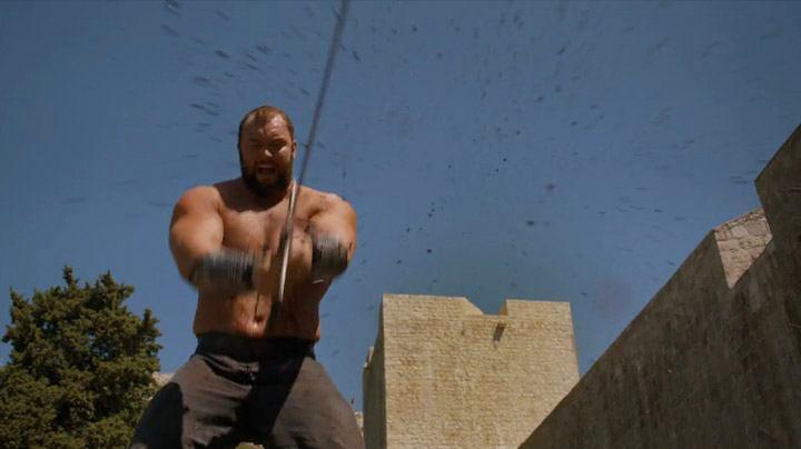 Gregor Clegane kills prisoners