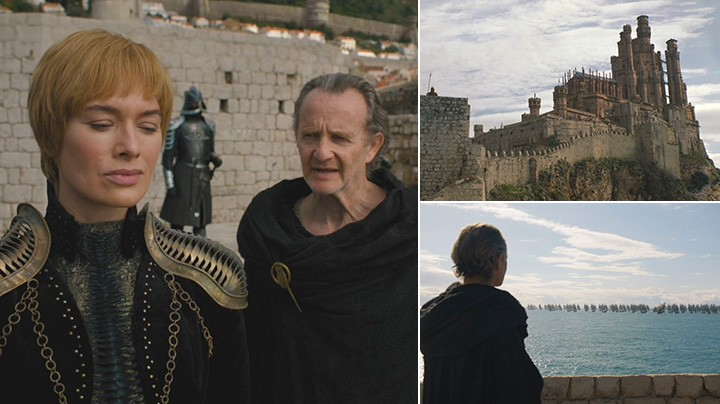 Qyburn informs Queen Cersei about undead army