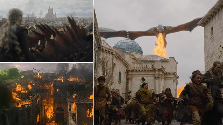 Daenerys burned King's Landing to the ground.
