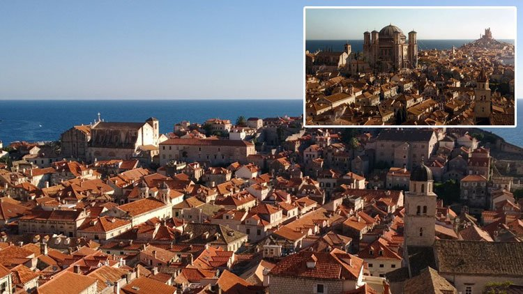 game of thrones filming location dubrovnik old town. Black Bedroom Furniture Sets. Home Design Ideas