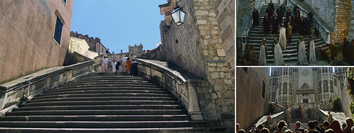 The steps of the Great Sept of Baelor