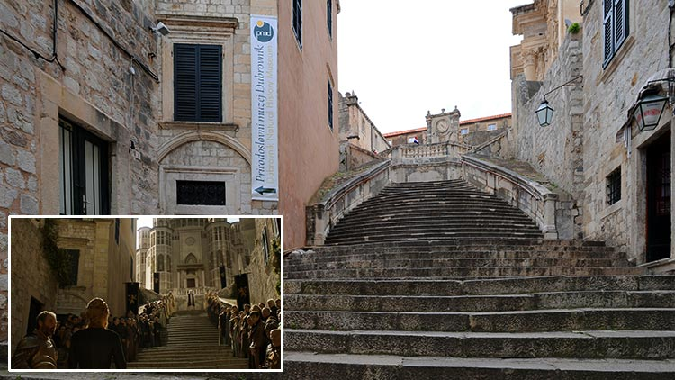Game Of Thrones Filming Location Dubrovnik Old Town