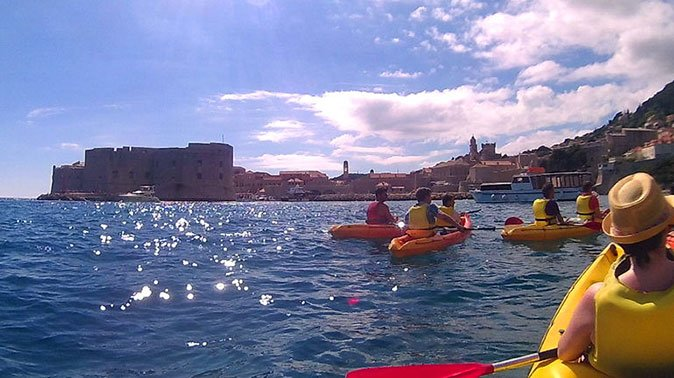 Dubrovnik Sea Kayak and Snorkeling Tour