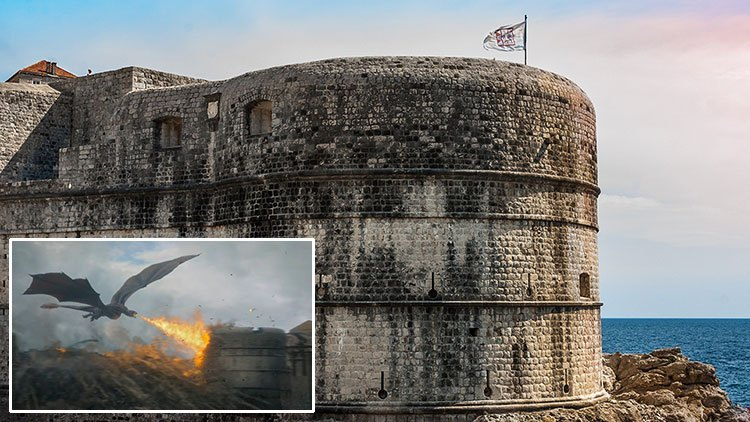 Game Of Thrones Filming Location Walls Of Dubrovnik