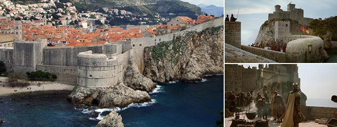 Bokar Fortress is part of the King's Landing walls